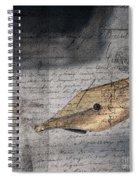 Calligraphy Writing Pen- Inspiring You To Write Spiral Notebook