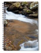 Calming Water Sounds - North Carolina Spiral Notebook