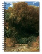 Campagna Landscape 1858 Spiral Notebook