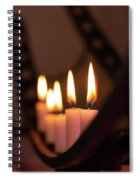 Candlestick  Spiral Notebook