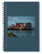 Cannery Pier Hotel Spiral Notebook