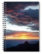 Canyon Sunset Spiral Notebook