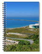Cap Antifer Oil Terminal  Spiral Notebook