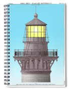 Cape Hatteras Lamp House Spiral Notebook
