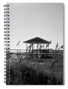 Cape San Blas Spiral Notebook