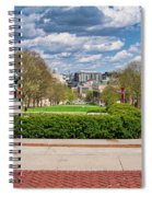 Capitol - Madison - Wisconsin From Bascom Hall Spiral Notebook