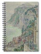 Capri, 1897  Spiral Notebook
