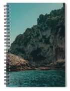 Capri Lighthouse Spiral Notebook