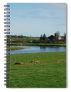 Carham Church And River Tweed Spiral Notebook