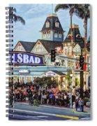 Carlsbad Village Sign Spiral Notebook