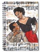 Carmen Jones - That's Love Spiral Notebook