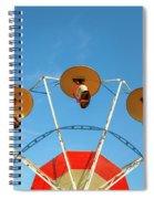 Carnival Fan Spiral Notebook