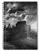 Carreg Cennen 3 Spiral Notebook
