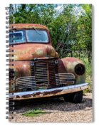 Cars From The Past Spiral Notebook