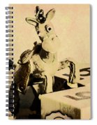 Cartoon Character Cowboys And Cowgirls Spiral Notebook