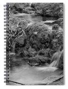 Cascades In A Peaceful Creek Scenery Spiral Notebook
