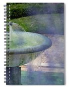 Castel Fountain Spiral Notebook
