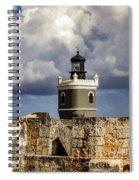 Castillo San Felipe Del Morro Lighthouse San Juan, Puerto Rico  Spiral Notebook