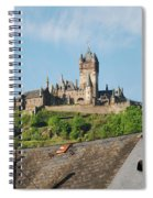 Castle At Cochem In Germany Spiral Notebook