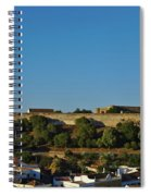 Castle Of Castro Marim From The Hill Spiral Notebook