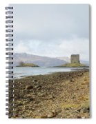 castle Stalker in late autumn Spiral Notebook