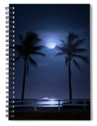 Catch The Moon Spiral Notebook