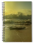Catching The Spirit Sun Coastal Sunrise Spiral Notebook