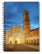 Cathedral Lucca Italy Spiral Notebook