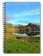 Cawfield Quarry And Hadrians Wall In Northumberland Spiral Notebook