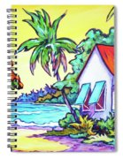 Cayman Cottage On The Bay Spiral Notebook