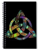 Celtic Triquetra Or Trinity Knot Symbol 3 Spiral Notebook