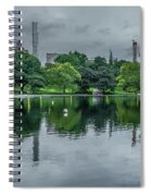 Central Park Reflections Spiral Notebook