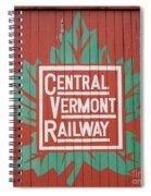 Central Vermont Railway Spiral Notebook