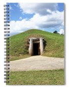 Indian Mound At Ocmulgee National Monument 1 Spiral Notebook