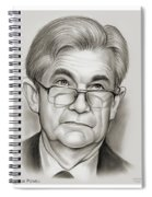 Chairman Powell Spiral Notebook