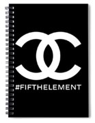Chanel Fifth Element-2 Spiral Notebook