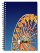 Chariots Of Gold Spiral Notebook