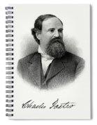 Charles Foster Spiral Notebook
