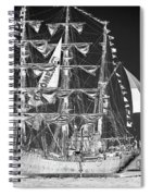 Charleston Ghost Ship Spiral Notebook