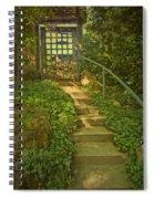 Chateau Montelena Garden Stairway Spiral Notebook