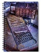 Cheese Grater 30 Spiral Notebook