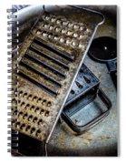 Cheese Grater 33 Spiral Notebook