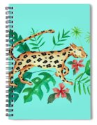 Cheetah's Hunt Spiral Notebook