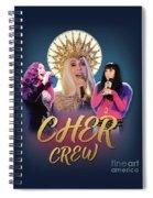 Cher Crew X3 Spiral Notebook