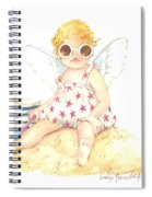 Cherub In The Sand Spiral Notebook