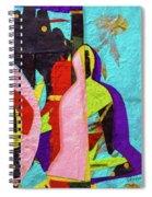 Chiang Mai Buddha Collage 16 Spiral Notebook
