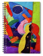 Chiang Mai Buddha Collage 7 Spiral Notebook