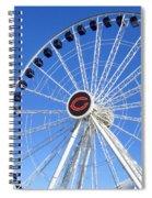 Chicago Centennial Ferris Wheel 2 Spiral Notebook