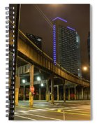 Chicago City Streets Spiral Notebook