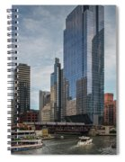 Chicago Skyline #1 Spiral Notebook